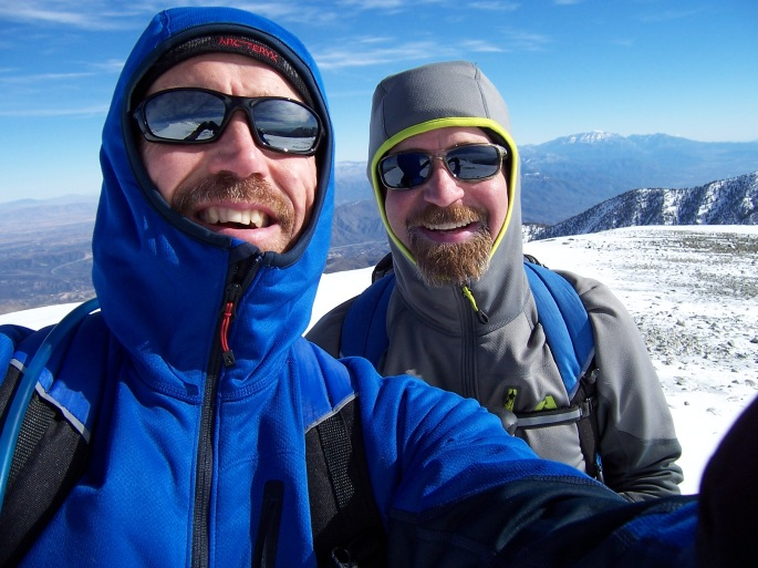 Greg & Brett on Summit