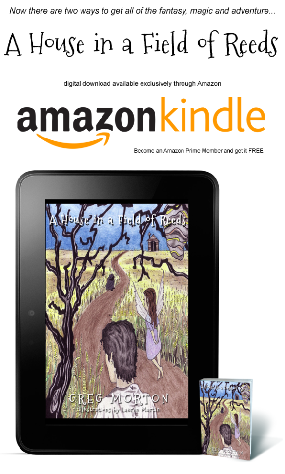 A House in a Field on Kindle