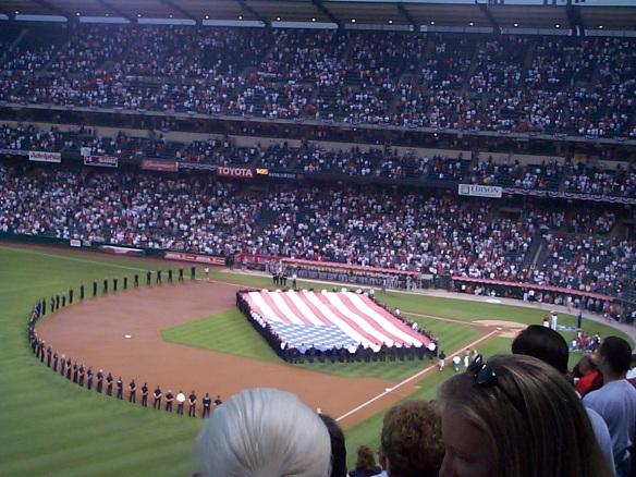 Sept. 11, 2002 - Angel Stadium