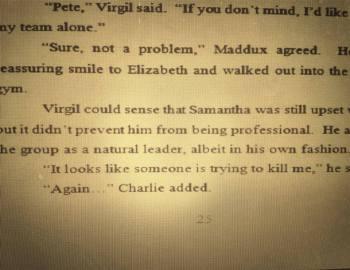Virgil Bear Ryan excerpt