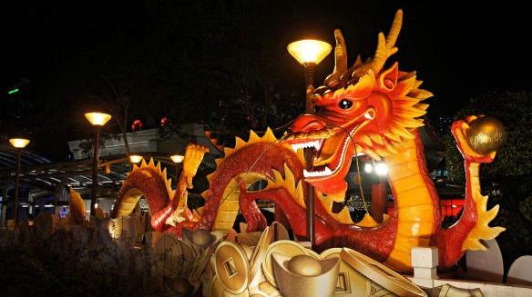 Chinese Dragon Year Statue by epSos.de