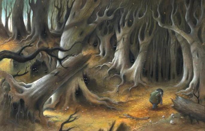 Wild Wood by Richard Johnson