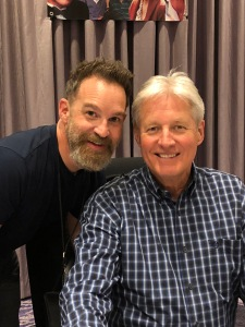 Greg Morton and Bruce Boxleitner